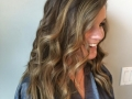 Balyagae foil method on virgin brown hair.4