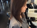 Before and after karla color cut suli`