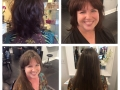 Before and after color and cut b