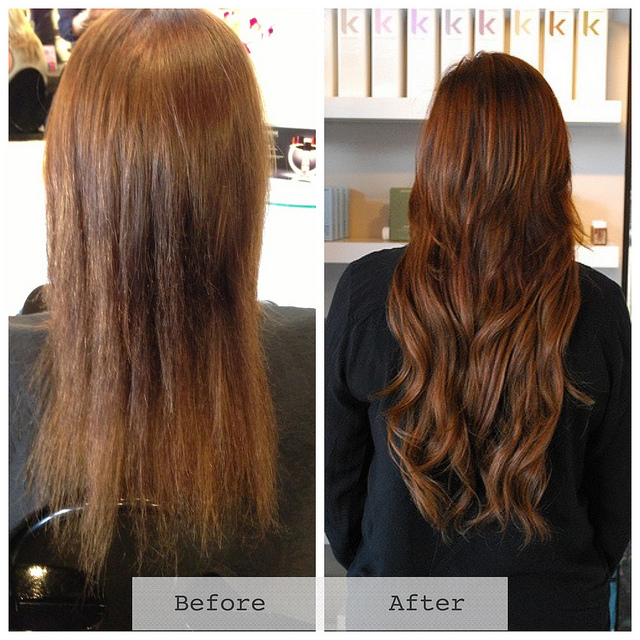 Kelsey Champion hair extension Therapy Hair Studio