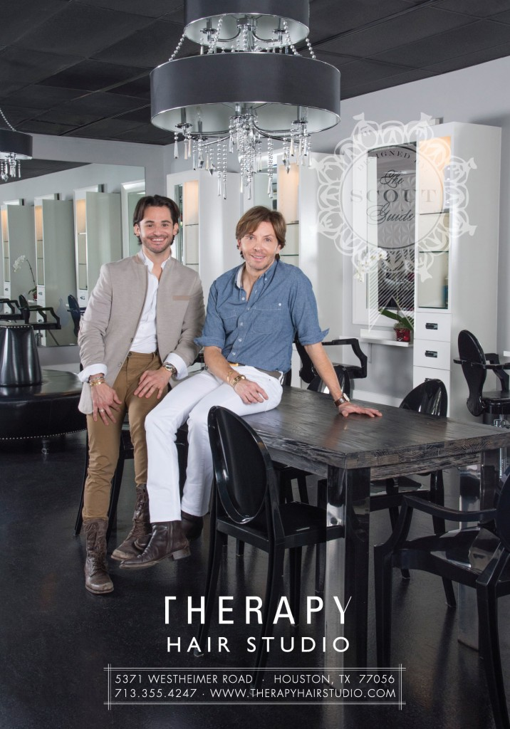 Check out Therapy Hair Studio in the first issue of The Scout Guide Houston