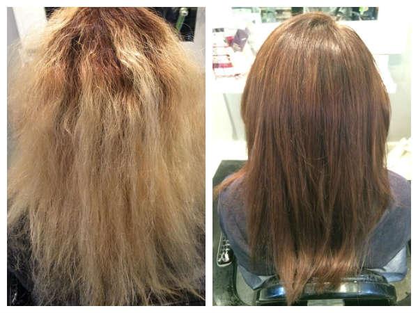 Hair Correction : Hair Color Correction